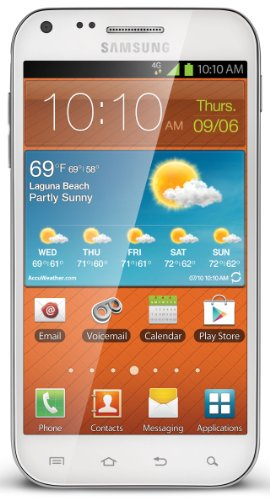 Samsung Galaxy S II 4G Prepaid Android Phone, White (Boost Mobile)