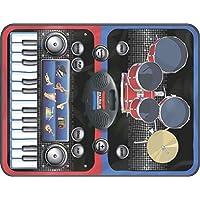 ZIPPY MAT - 2 in 1 Musical Jam Playmat, Multi Color