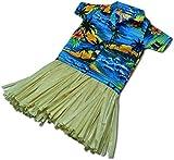Hawaiian Wine Beer or Water Bottle Cover Aloha Shirt Palm Tree