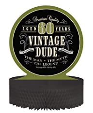 Creative Converting Vintage Dude 60th…