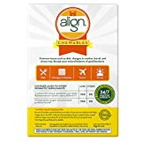 Align Probiotic Supplement Banana Strawberry Flavored Chewables, 24 Count