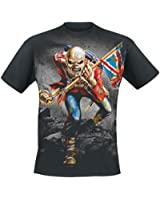 Iron Maiden The Trooper T-Shirt schwarz