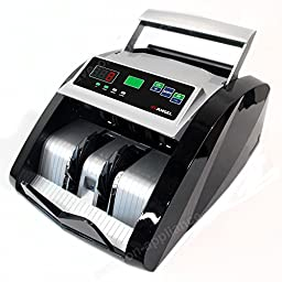 New Money Bill Cash Counter Bank Machine Count Currency Counting Cad Usd Digital