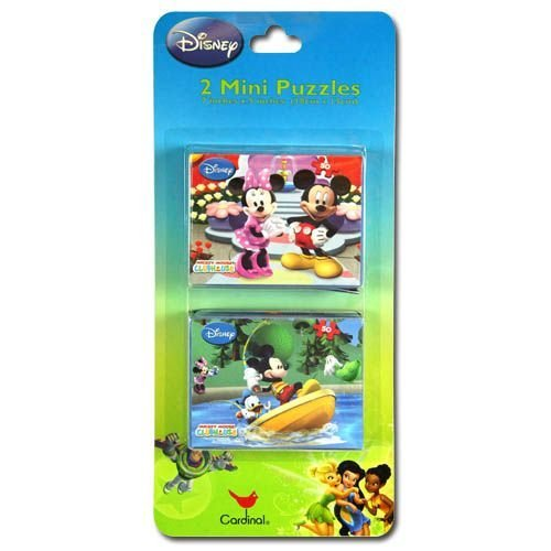 Disney Mickey Clubhouse 2pk Mini Puzzles - 1