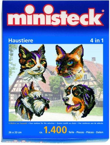 Imagen principal de ministeck 31702  - Puzzle de diseño de mascotas [Importado de Alemania]