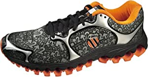 K-Swiss Men's Tubes 100 Dustem Running shoe,Black/Orange,8 M US