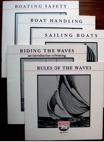rules-of-the-waves-six-illustrated-boating-booklets-michelob-boating-booklets-volume-1-volume-6