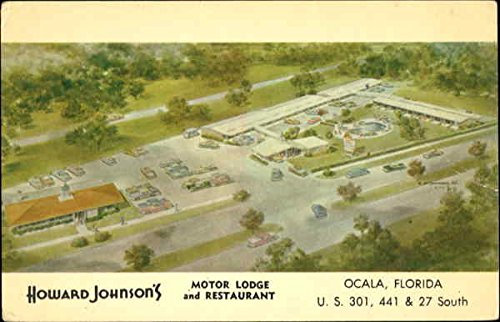 Howard Johnson'S Motor Lodge And Restaurant, U. S. 301, 41 & 27 South Original Vintage Postcard