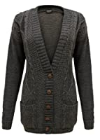 Topnotch - Pull Cardigan Pour Femme Tricot Fermeture À Boutons Neuf