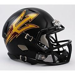 Buy NCAA Arizona State Sun Devils Black Speed Mini Helmet by Riddell