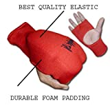 Aasta Karate , MMA Elasitcated Mitt (Large, Black)