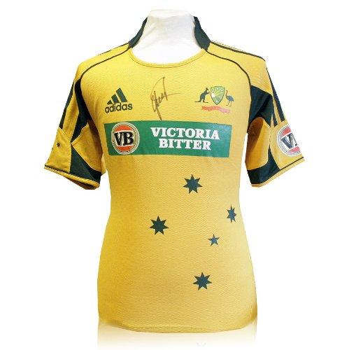 Shane Warne signed cricket shirt - Australian Twenty20