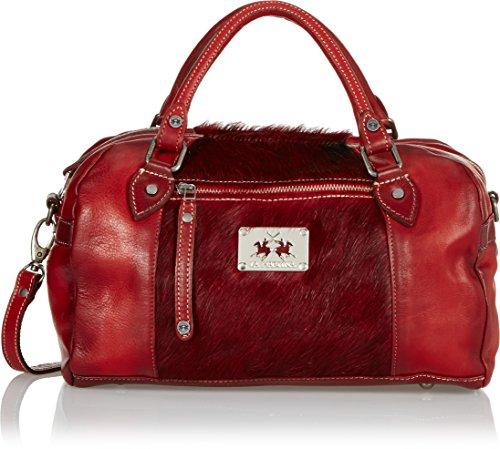 La-Martina-School-Bag-Red