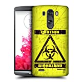 Head Case Designs Bio Hazard Symbols Protective Snap-on Hard Back Case Cover for LG G3 D855 D850