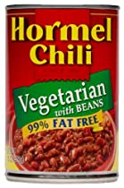 Hormel Vegeterian Chili with Beans, 15-Ounce (Pack of 6)