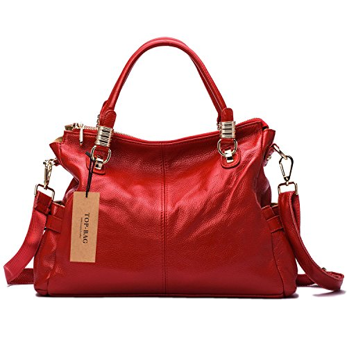 Popular 10 Red Shoulder Handbags