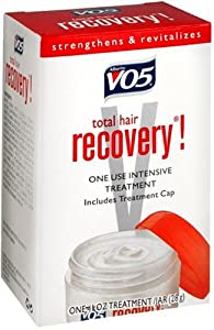 Alberto VO5 Total Hair Recovery Intensive Conditioning Treatment, 1-Ounce Packages (Pack of 6)