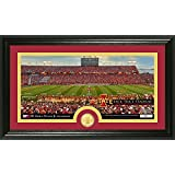 "NCAA Iowa State Cyclones ""Stadium"" Bronze Coin Panoramic Photo Mint, Bronze, 22"" X 15"" X 4"""