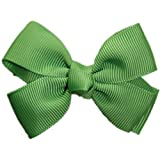 Posies Accessories Bitty Grosgrain Bud Green Hair Bow