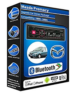 Mazda autoradio Alpine UTE 72BT-kit mains libres Bluetooth pour autoradio stéréo