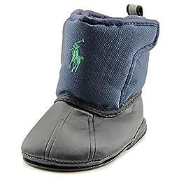 Ralph Lauren Layette Albirta EZ Snow Boot (Infant/Toddler),Navy,3 M US Infant