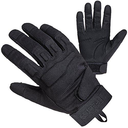 TPRANCE Tactical Gloves for Men Outdoor Sport Driving L