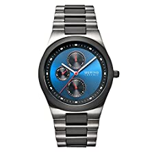 buy Bering Time Men'S Ceramic Collection Watch With Ceramic Link Band And Scratch Resistant Sapphire Crystal. Designed In Denmark. 32339-788