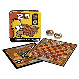 Simpsons Checkers