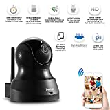 Deecam D200 Wireless IP/Network Camera HD 720P Surveillance Camera Pan & Tilt with Two-Way Audio and Night Vision