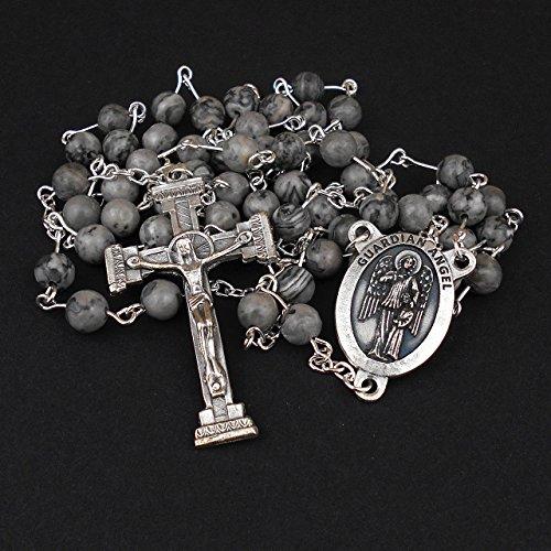 italian-crucifix-and-guardian-angel-rosary-with-grey-jasper-gemstones