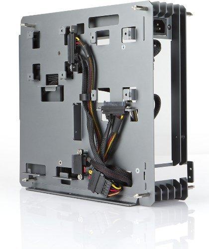 Inwin - H-Frame Mini Blue Mini ITX Tower Case w/180W Power Supply (H ...