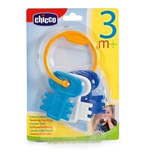 Chicco 63216200000 - Mordedor con diseño de llavero, color azul