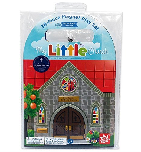 My Little Catholic Church Magnet Set (Kids Church compare prices)