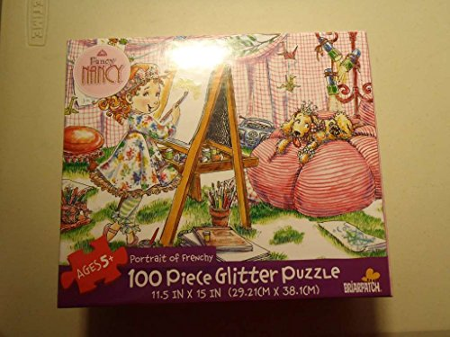 Fancy Nancy 100 Piece Glitter Puzzle - Portrait of Frenchy