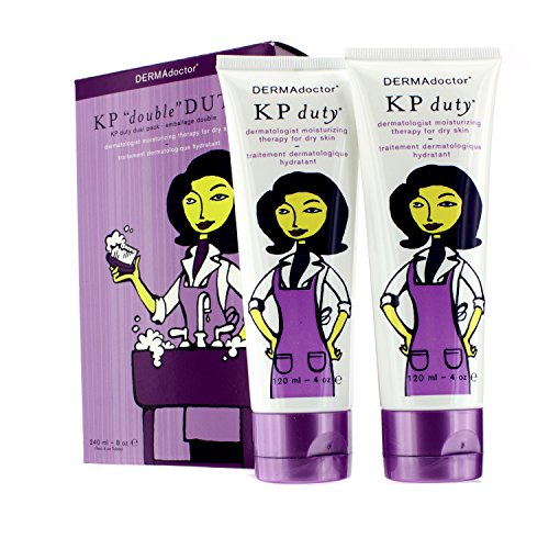 "Dermadoctor Kp ""Double"" Duty Dual Pack, 1 Set"