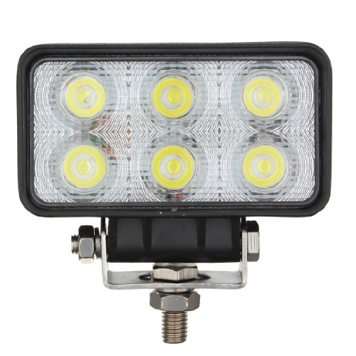 18W 1620Lm 6Led Spot Work Lamp Light Offroads For Trailer Off Road Boat 4Wd 4X4