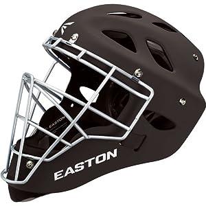 Easton Rival Catcher's Helmet, Black, Large