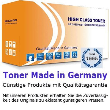 High Class Toner Cartridge für Samsung ML 2950, 2951, 2955, SCX 4726, 4727, 4728, D, ND, DW, FW, ND, SCX, FN, FD, black, schwarz, für ca. 2500 Seiten, ersetzt MLT-D103L, Qualität ausschließlich Made in Germany