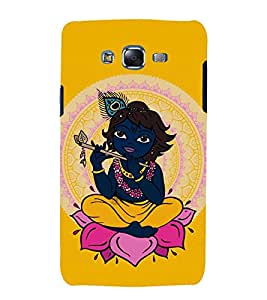 printtech Lord God Krishna Back Case Cover for Samsung Galaxy Core i8262 / Samsung Galaxy Core i8260