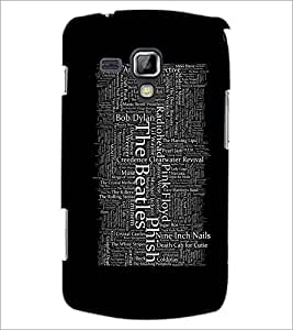 PrintDhaba Typography D-2066 Back Case Cover for SAMSUNG GALAXY S DUOS 2 S7582 (Multi-Coloured)