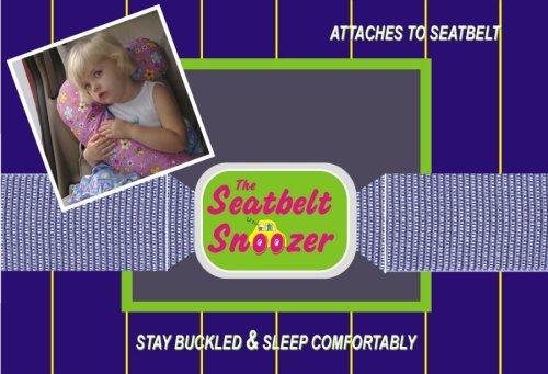 Kalencom Seat Belt Snoozer Navy - 1