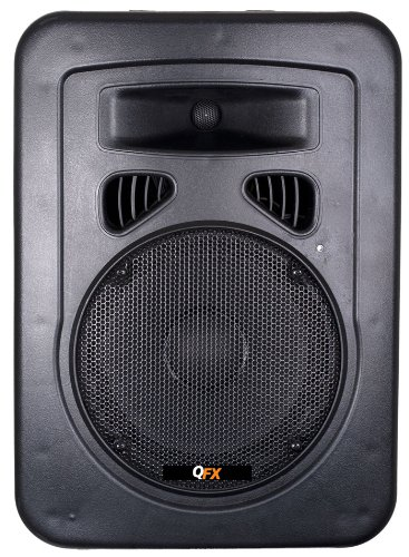 Qfx Sbx1008Bt 8-Inch High Quality Clear Bluetooth Dj Speakers