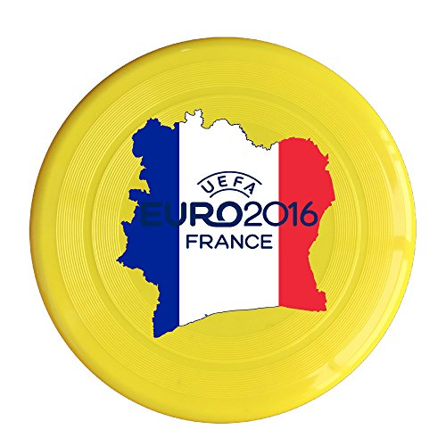 Greenday 2016 Euro France High Quality Plastic Sport Disc Yellow