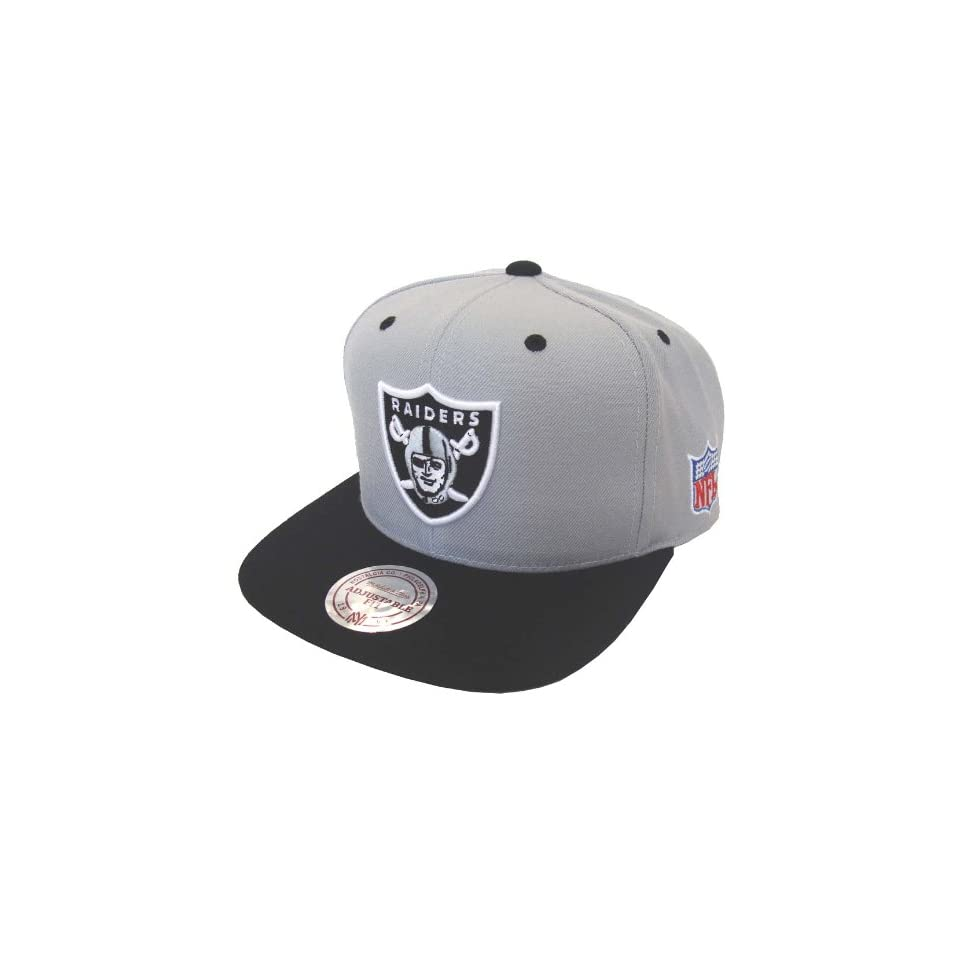 752a73ec5 Oakland Raiders Mitchell   Ness Logo Snapback Cap Hat on PopScreen