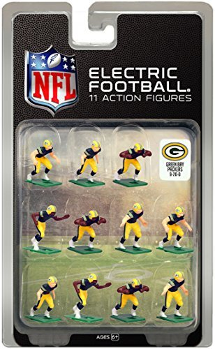 Green Bay Packers?Dark Uniform NFL Action Figure Set by Tudor Games