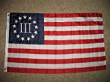 American Revolution Betsy Ross Nyberg Iii Flag 3 Percent 3Ft X 5Ft 3X5 Banner