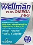 Vitabiotics Wellman Plus Omega 3/ 6/...