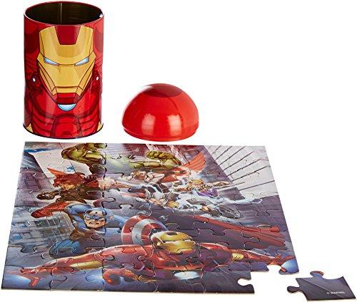 Puzzle - Marvel - Avengers Iron Man proiettile a forma di latta 48Pcs Nuovo 57634