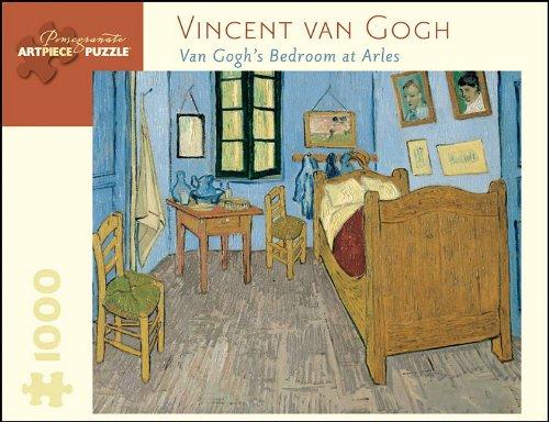 Vincent Van Gogh: Van Gogh's Bedroom at Arles 1000 Pc Jigsaw (Pomegranate Artpiece Puzzle)