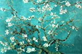 Almond Blossom Poster Print by Vincent van Gogh, 36x24 Floral & Botanical Poster Print by Vincent van Gogh, 36x24